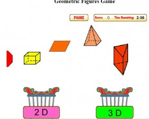 Geometric Shapes Game
